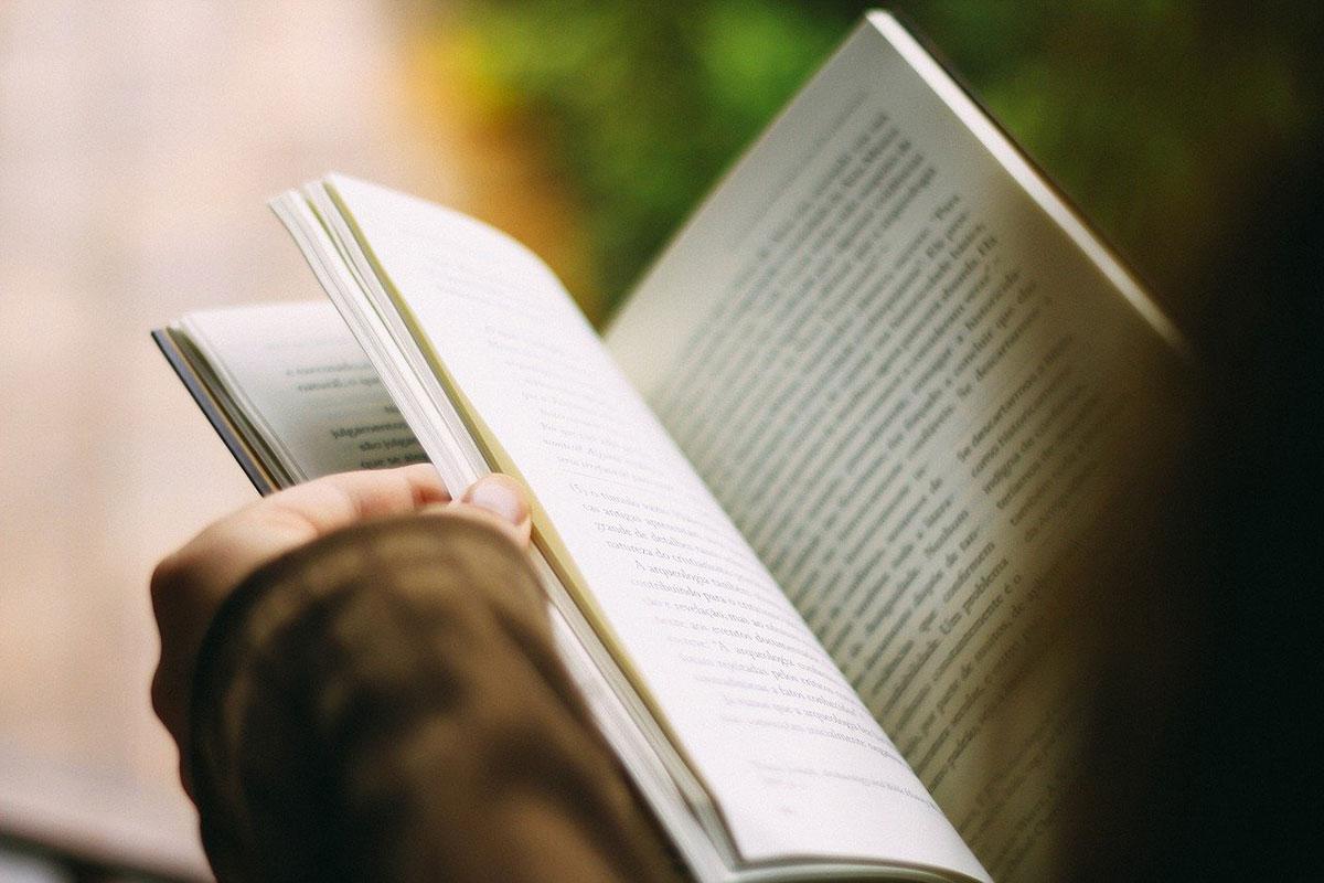 individual reading book